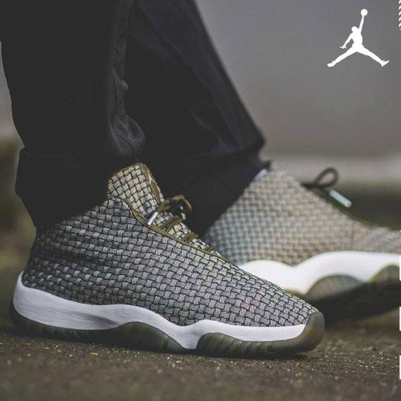 Jordan Future Sneakers. New. Men Sizes: 9.5 & 11.5